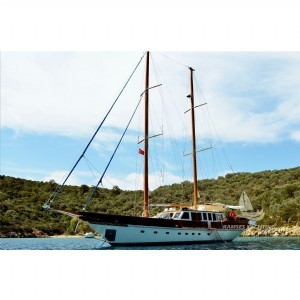 L660 - Yacht Charter Turkey 12 person Luxury Gulet